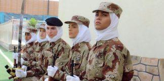 সৌদি নারীদের জন্য খুলল সামরিক বাহিনীর দুয়ার