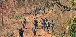 মাওবাদীদের হামলায় ২২ ভারতীয় সেনা নিহত