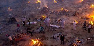 করোনায় বিপর্যস্ত ভারত,একদিনে মৃত্যু ৩৬৮৯,আক্রান্ত ৪ লাখ