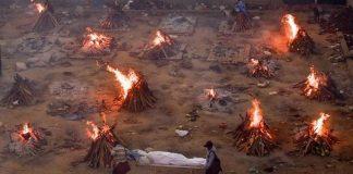 করোনায় বিপর্যস্ত ভারত,এক দিনে মৃত্যুর নতুন রেকর্ড