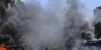 সিরিয়ার রাজধানীতে ভয়াবহ বোমা হামলা, ১৪ সেনা সদস্য নিহত